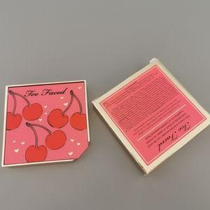 New Too Faced Tutti Frutti blush duo in cherrybomb